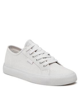 DC DC Sneakers aus Stoff Manual ADYS300591 Weiß