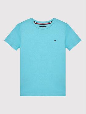Tommy Hilfiger Tommy Hilfiger T-Shirt Essential KB0KB06130 D Niebieski Regular Fit