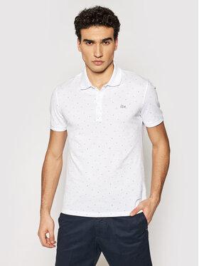 Lacoste Lacoste Polo marškinėliai PH0158 Balta Slim Fit