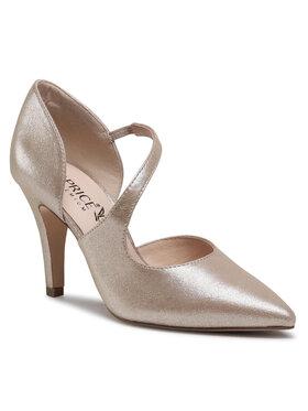 Caprice Caprice Pantofi cu toc subțire 9-9-24400-26 Auriu