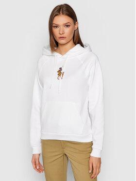 Polo Ralph Lauren Polo Ralph Lauren Sweatshirt Seasonal Fleece 211843277001 Blanc Regular Fit