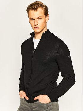 EA7 Emporio Armani EA7 Emporio Armani Sweater 8NPEZ1 PM62Z 1200 Fekete Regular Fit