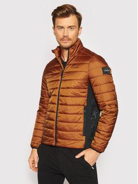 Calvin Klein Calvin Klein Giubbotto piumino Essential Side Logo K10K107335 Marrone Regular Fit