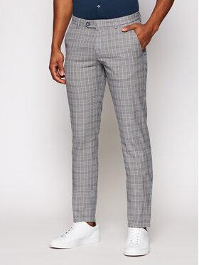 Bugatti Bugatti Текстилни панталони 4890 76359 Сив Modern Fit