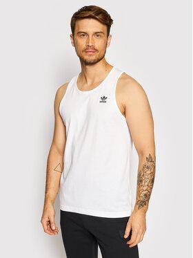 adidas adidas Tank top marškinėliai adicolor Essentials Trefoil H35497 Balta Regular Fit