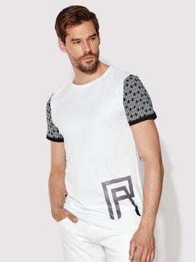 Rage Age Rage Age T-shirt Gekko 2 Blanc Slim Fit