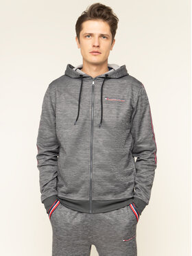 Tommy Sport Tommy Sport Bluză Classics Fleece S20S200327 Gri Regular Fit
