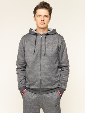 Tommy Sport Tommy Sport Mikina Classics Fleece S20S200327 Sivá Regular Fit