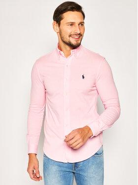 Polo Ralph Lauren Polo Ralph Lauren Košile Pique 710654408 Růžová Regular Fit