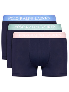 Polo Ralph Lauren Polo Ralph Lauren Komplektas: 3 poros trumpikių 714830299004 Tamsiai mėlyna