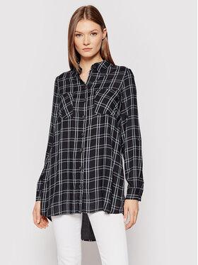 Vero Moda Vero Moda Košeľa Bumpy 10255547 Čierna Oversize