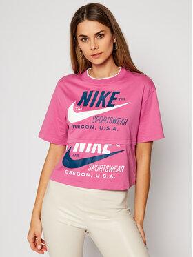 Nike Nike Tricou Sportswear Icon Clash CJ2040 Roz Loose Fit