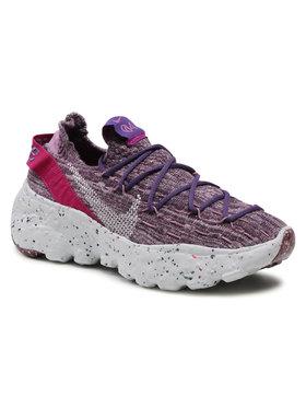Nike Nike Buty Space Hippie 04 CD3476 500 Fioletowy