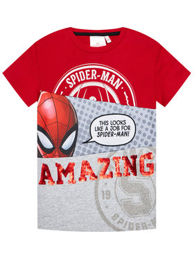 Desigual Desigual T-Shirt Spider 21SBTK08 Bunt Regular Fit