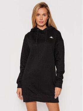 Kappa Kappa Úpletové šaty Jamala 310023 Čierna Regular Fit