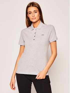 Lacoste Lacoste Polo PF5462 Szary Slim Fit