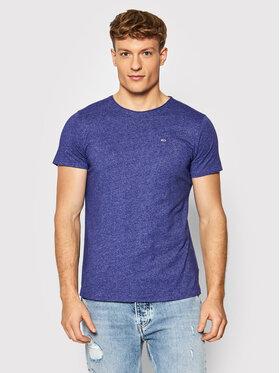 Tommy Jeans Tommy Jeans T-Shirt Jaspe DM0DM09586 Fialová Slim Fit