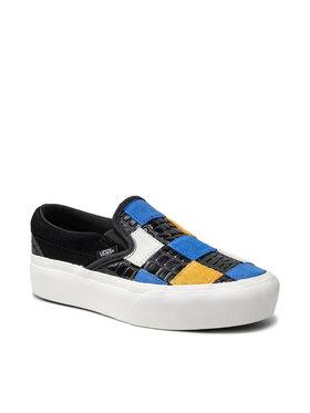 Vans Vans Πάνινα παπούτσια Classic Slip-On P VN0A3JEZ1L21 Μαύρο