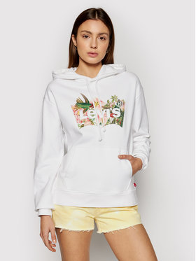 Levi's® Levi's® Sweatshirt Graphic 18487-0002 Blanc Regular Fit