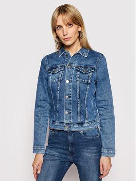 Tommy Jeans Tommy Jeans Geacă de blugi Vivianne DW0DW10178 Albastru Slim Fit