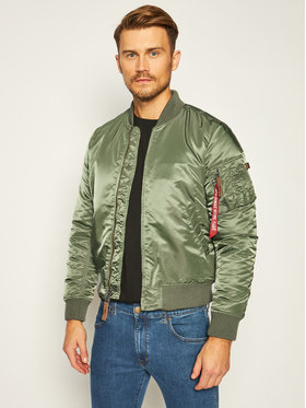 Alpha Industries Alpha Industries Яке бомбър Ma-1 Vt 59 191118 Зелен Regular Fit