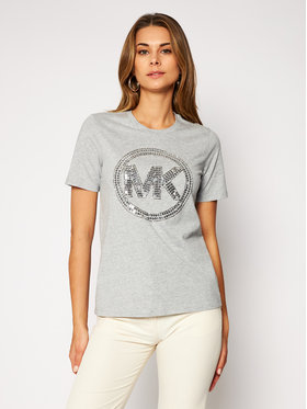 MICHAEL Michael Kors MICHAEL Michael Kors T-Shirt MF05MRA97J Szary Regular Fit