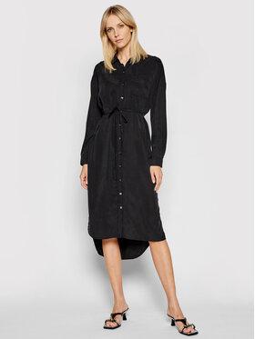 Calvin Klein Jeans Calvin Klein Jeans Sukienka koszulowa J20J215693 Czarny Regular Fit