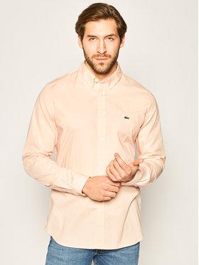 Lacoste Lacoste Camicia CH7221 Rosa Slim Fit