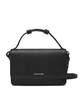 Calvin Klein Calvin Klein Kabelka Ck Must Flag Mini Bag W/Wallet K60K608451 Čierna