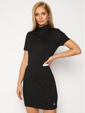 Calvin Klein Jeans Calvin Klein Jeans Každodenní šaty J20J215060 Černá Regular Fit