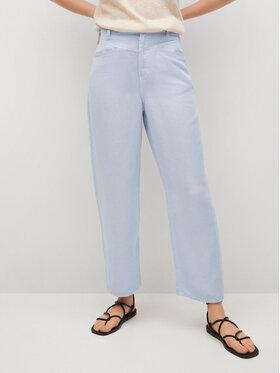 Mango Mango Spodnie materiałowe Sky 87058633 Niebieski Regular Fit