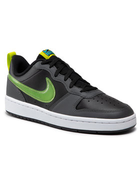 Nike Nike Scarpe Court Borough Low 2 Ksa (BG) CW1624 001 Nero
