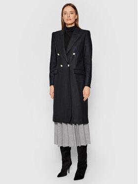 Marella Marella Gyapjú kabát Nono 39060418 Fekete Regular Fit