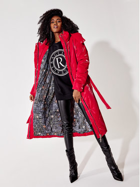 Rage Age Rage Age Cappotto invernale Isolde 2 Rosso Regular Fit