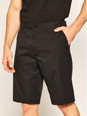 Boss Boss Szorty materiałowe Hayler 50422937 Czarny Regular Fit