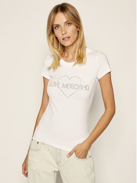LOVE MOSCHINO LOVE MOSCHINO T-Shirt W4B194TE 2065 Regular Fit