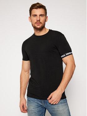 Dsquared2 Underwear Dsquared2 Underwear T-Shirt D9M203190 Μαύρο Regular Fit