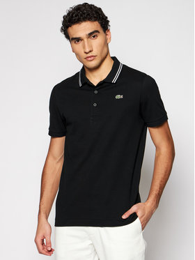 Lacoste Lacoste Polo marškinėliai YH1482 Juoda Regular Fit
