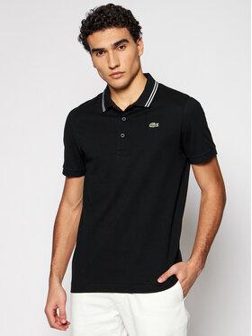 Lacoste Lacoste Тениска с яка и копчета YH1482 Черен Regular Fit