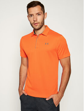 Under Armour Under Armour T-shirt technique Tech Polo 1290140 Orange Regular Fit