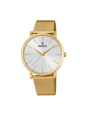 Festina Festina Ρολόι Boyfriend Collection 20476/1 Χρυσό