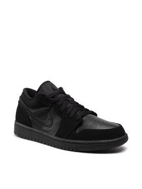 Nike Nike Scarpe Air Jordan 1 Low 553558 025 Nero