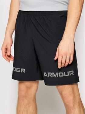 Under Armour Under Armour Szorty sportowe Woven Graphic Wordmark 1361433 Czarny Loose Fit