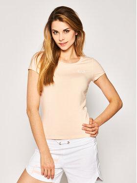 EA7 Emporio Armani EA7 Emporio Armani T-shirt 3HTT03 TJ28Z 1690 Orange Regular Fit