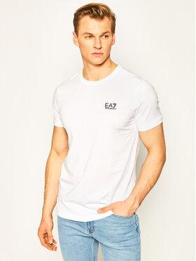 EA7 Emporio Armani EA7 Emporio Armani T-Shirt 8NPT51 PJM9Z 1100 Weiß Regular Fit