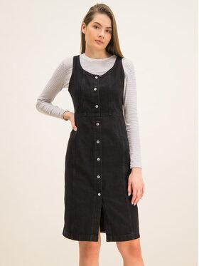 Levi's® Levi's® Sukienka jeansowa 85386-0000 Czarny Regular Fit
