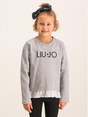 Liu Jo Kids Liu Jo Kids Bluză K69005 F0090 Gri Regular Fit
