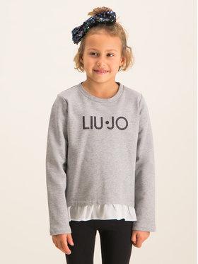 Liu Jo Kids Liu Jo Kids Μπλουζάκι K69005 F0090 Γκρι Regular Fit
