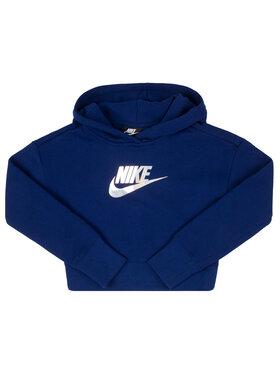 Nike Nike Mikina CQ4225 Tmavomodrá Standard Fit