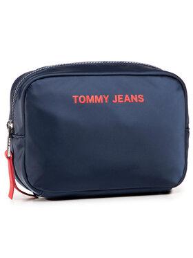 Tommy Jeans Tommy Jeans Pochette per cosmetici Tjw Nylon Twist Washbag AW0AW08980 Blu scuro